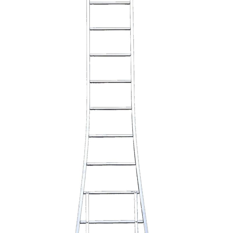 Petry - Enkele ladder (uitgebogen)
