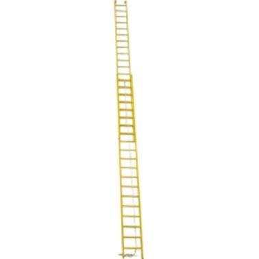 LM - Optrekladder 2-delig (kunststof)