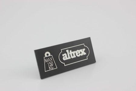 Altrex Double Decker - Bordesschild