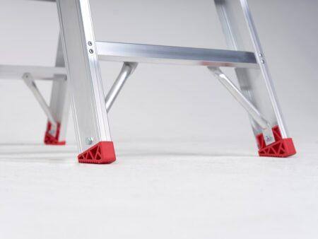 Altrex Sierra dubbel oploopbare trap 2x4 treden (SDO)