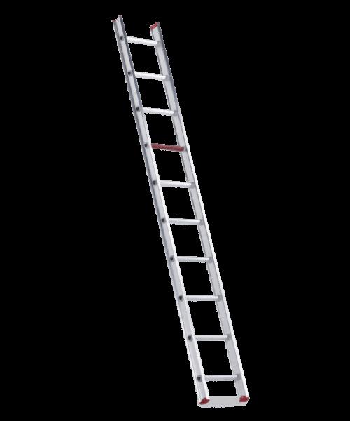 Altrex allround enkele ladder ongecoat 1x12 treden