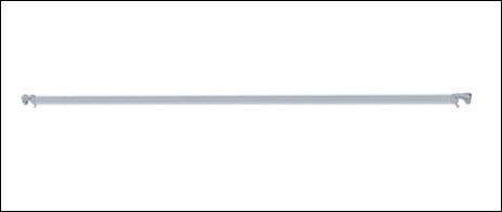Altrex horizontaalschoor 2,45m C5017 Sijperda